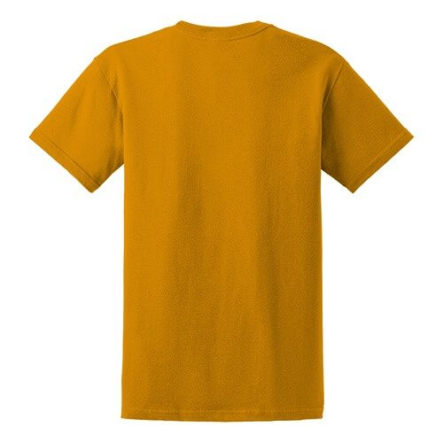 Custom Printed Gildan 8000 Dry Blend 50–50 T-Shirt - 27 - Back View | ThatShirt