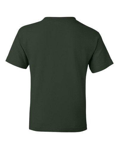 Custom Printed Gildan 800B Youth Dry Blend 50/50 T-Shirt - 8 - Back View | ThatShirt