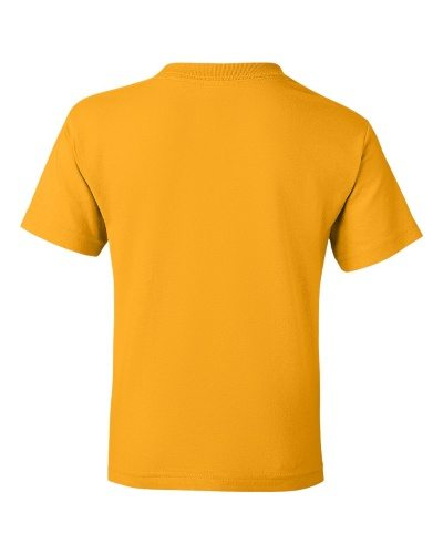 Custom Printed Gildan 800B Youth Dry Blend 50/50 T-Shirt - 9 - Back View | ThatShirt