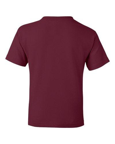 Custom Printed Gildan 800B Youth Dry Blend 50/50 T-Shirt - 17 - Back View | ThatShirt