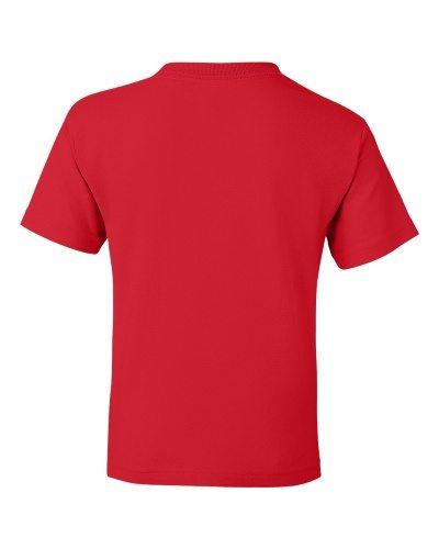 Custom Printed Gildan 800B Youth Dry Blend 50/50 T-Shirt - 20 - Back View | ThatShirt