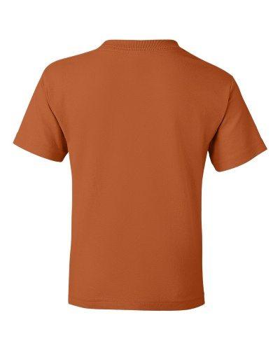 Custom Printed Gildan 800B Youth Dry Blend 50/50 T-Shirt - 24 - Back View | ThatShirt