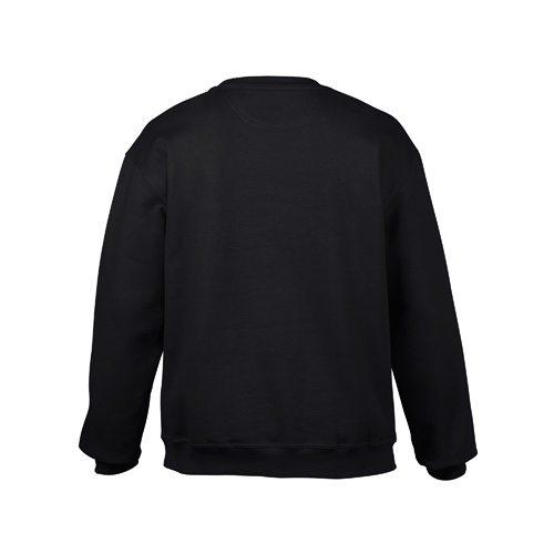 Custom Printed Gildan 92000 Premium Cotton Ring Spun Fleece Crewneck Sweater - 1 - Back View | ThatShirt