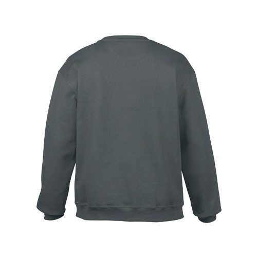 Custom Printed Gildan 92000 Premium Cotton Ring Spun Fleece Crewneck Sweater - 0 - Back View | ThatShirt