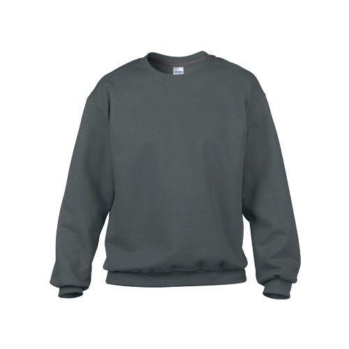 Custom Printed Gildan 92000 Premium Cotton Ring Spun Fleece Crewneck Sweater - 0 - Front View | ThatShirt