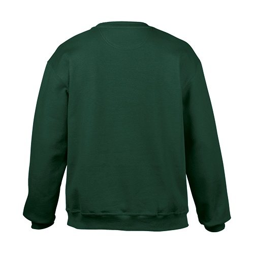 Custom Printed Gildan 92000 Premium Cotton Ring Spun Fleece Crewneck Sweater - 2 - Back View | ThatShirt