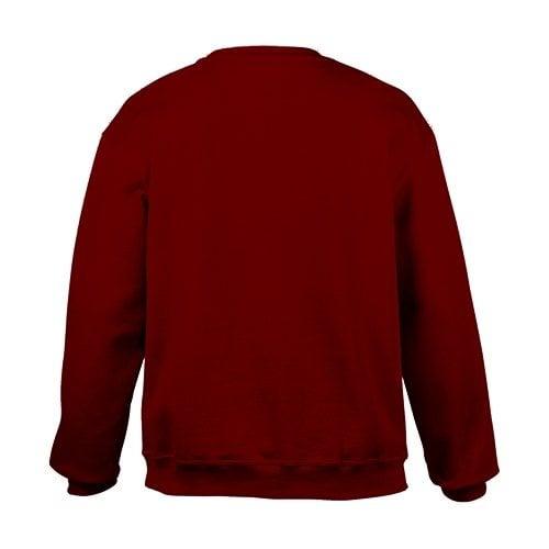 Custom Printed Gildan 92000 Premium Cotton Ring Spun Fleece Crewneck Sweater - 3 - Back View | ThatShirt