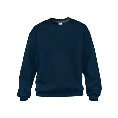 Custom Printed Gildan 92000 Premium Cotton Ring Spun Fleece Crewneck Sweater - Front View | ThatShirt