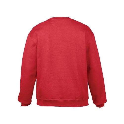Custom Printed Gildan 92000 Premium Cotton Ring Spun Fleece Crewneck Sweater - 5 - Back View | ThatShirt
