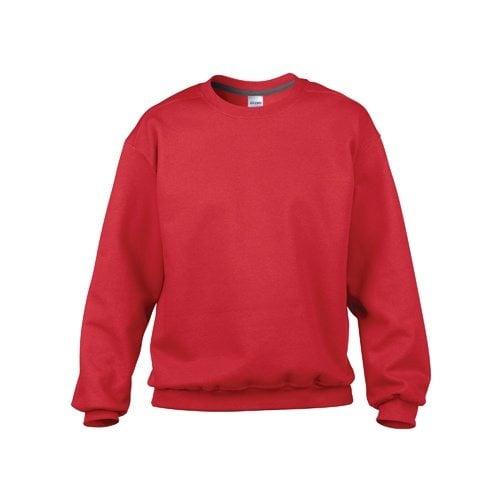 Custom Printed Gildan 92000 Premium Cotton Ring Spun Fleece Crewneck Sweater - Front View | ThatShirt