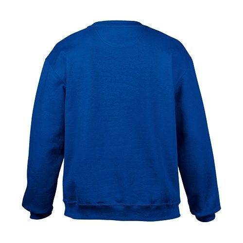 Custom Printed Gildan 92000 Premium Cotton Ring Spun Fleece Crewneck Sweater - 6 - Back View | ThatShirt