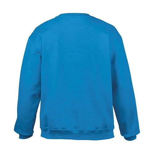 Custom Printed Gildan 92000 Premium Cotton Ring Spun Fleece Crewneck Sweater - 7 - Back View | ThatShirt