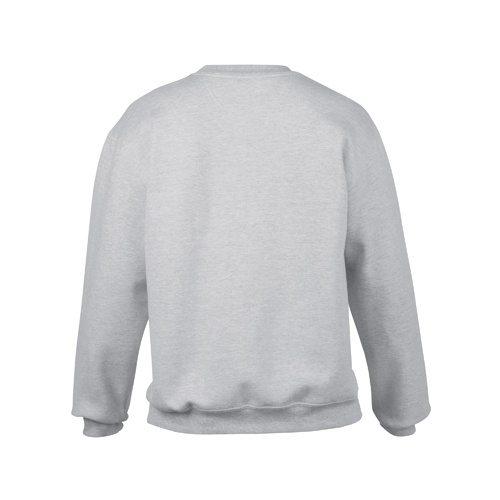 Custom Printed Gildan 92000 Premium Cotton Ring Spun Fleece Crewneck Sweater - 8 - Back View | ThatShirt