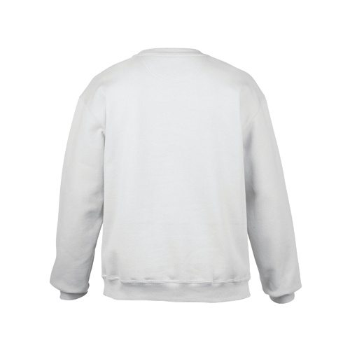 Custom Printed Gildan 92000 Premium Cotton Ring Spun Fleece Crewneck Sweater - 9 - Back View | ThatShirt