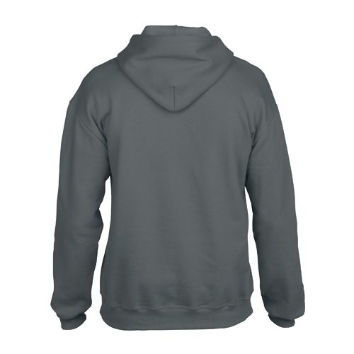 Custom Printed Gildan 92500 Premium Cotton Ring Spun Fleece Hooded Sweater - 1 - Back View | ThatShirt