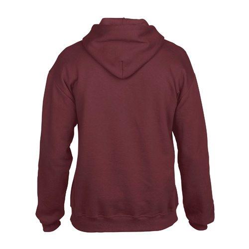 Custom Printed Gildan 92500 Premium Cotton Ring Spun Fleece Hooded Sweater - 3 - Back View | ThatShirt