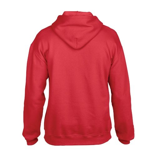Custom Printed Gildan 92500 Premium Cotton Ring Spun Fleece Hooded Sweater - 5 - Back View | ThatShirt