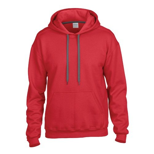 Custom Printed Gildan 92500 Premium Cotton Ring Spun Fleece Hooded Sweater - Front View | ThatShirt