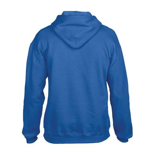 Custom Printed Gildan 92500 Premium Cotton Ring Spun Fleece Hooded Sweater - 6 - Back View   ThatShirt