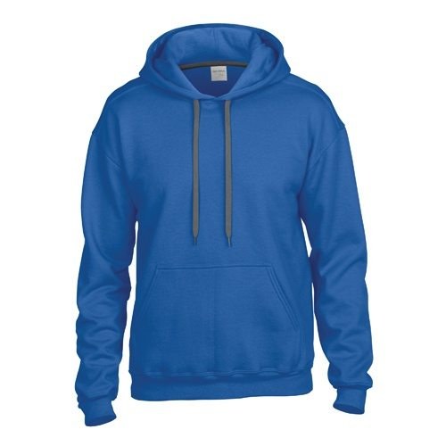 Custom Printed Gildan 92500 Premium Cotton Ring Spun Fleece Hooded Sweater - 6 - Front View | ThatShirt