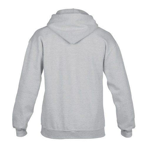 Custom Printed Gildan 92500 Premium Cotton Ring Spun Fleece Hooded Sweater - 7 - Back View | ThatShirt