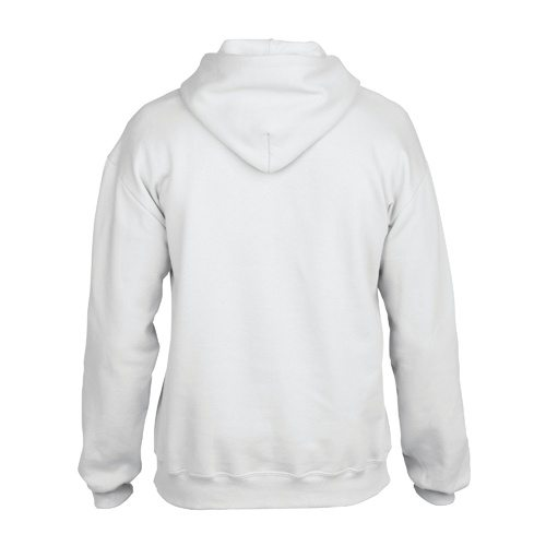 Custom Printed Gildan 92500 Premium Cotton Ring Spun Fleece Hooded Sweater - 8 - Back View | ThatShirt