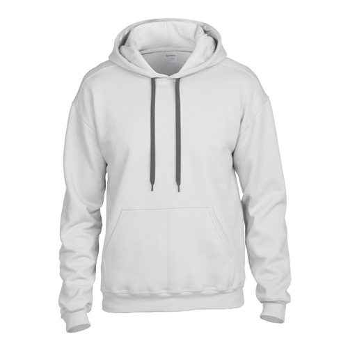 Custom Printed Gildan 92500 Premium Cotton Ring Spun Fleece Hooded Sweater - Front View | ThatShirt