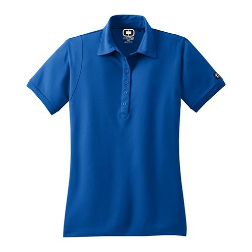 Custom Printed OGIO LOG101 Ladies' Jewel Polo - Front View | ThatShirt