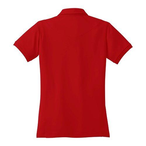 Custom Printed OGIO LOG101 Ladies' Jewel Polo - 4 - Back View | ThatShirt