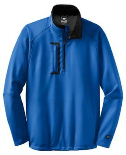 Custom Printed OGIO OG201 Premium Torque 1/4 Zip Pullover - Front View | ThatShirt