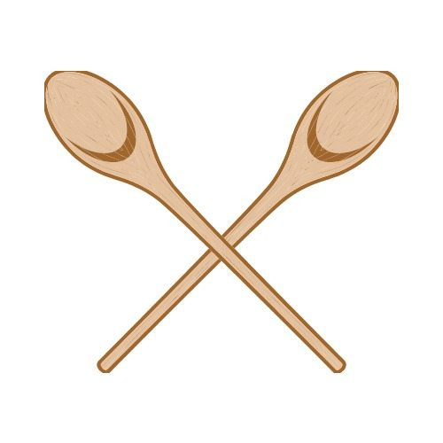 WOODEN SPOON C Clip Art - Get Started At ThatShirt!
