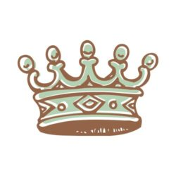 ThatShirt T-Shirt Clip Art - Crowns - CROWN