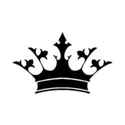 ThatShirt T-Shirt Clip Art - Crowns - CROWN7