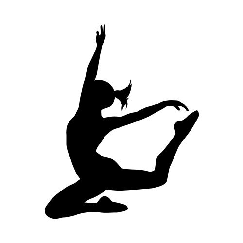 DANCE20 BW Clip Art - Get Started At ThatShirt!