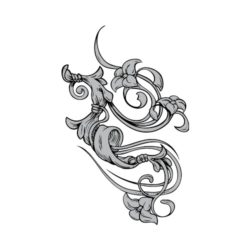 ThatShirt T-Shirt Clip Art - Ornamental - FLOURISH_11