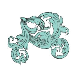 ThatShirt T-Shirt Clip Art - Ornamental - FLOURISH_12