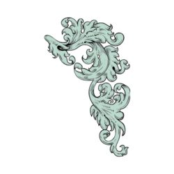 ThatShirt T-Shirt Clip Art - Ornamental - FLOURISH_14
