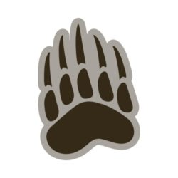ThatShirt T-Shirt Clip Art - Paws & Claws - 07