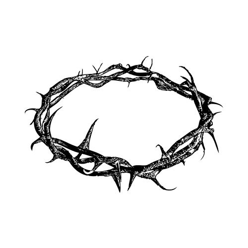 crown of thorns clip art get started at thatshirt rh thatshirt com crown of thorns clipart black and white crown of thorns clip art religion free