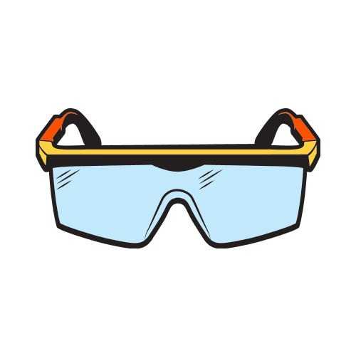 safety goggles c clip art get started at thatshirt rh thatshirt com wear safety goggles clipart