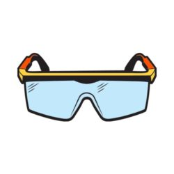 ThatShirt T-Shirt Clip Art - Safety - SAFETY_GOGGLES_C