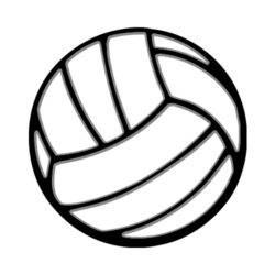 ThatShirt T-Shirt Clip Art - Volleyball - VOLLEYBALL20