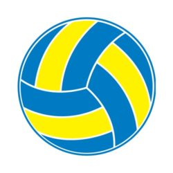 ThatShirt T-Shirt Clip Art - Volleyball - VOLLEYBALL_SIMPLE
