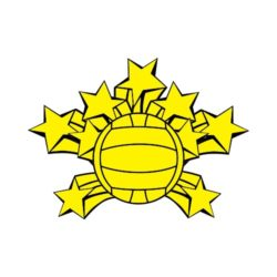 ThatShirt T-Shirt Clip Art - Volleyball - VOLLEYBALL_STARS