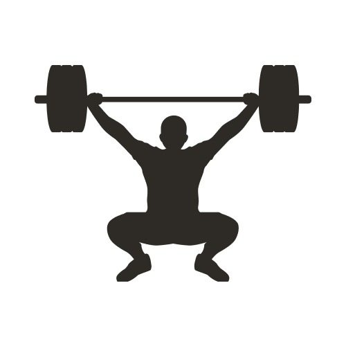 FITNESS15 BW Clip Art - Get Started At ThatShirt!