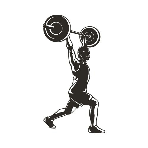 FITNESS16 BW Clip Art - Get Started At ThatShirt!