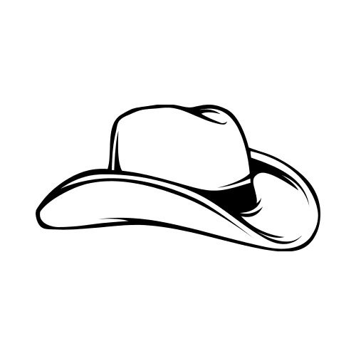 78e40421a6f COWBOY HAT Clip Art - Get Started At ThatShirt!