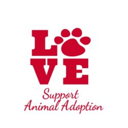 thatshirt t-shirt design ideas - Animal Causes - Support Animal Adoption