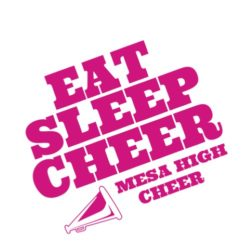 thatshirt t-shirt design ideas - Cheerleading - Eat, Sleep, Cheer