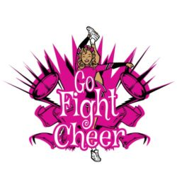 thatshirt t-shirt design ideas - Cheerleading - Go, Fight, Cheer
